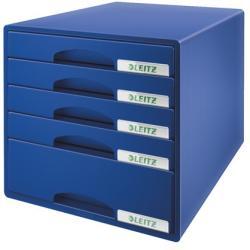 Leitz Plus Irattároló 5 fiókos műanyag kék (52110035)