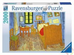 Ravensburger Van Gogh hálószobája 2000 db-os (16684)