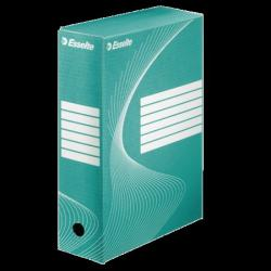 Esselte Standard Archiváló doboz 100 mm A4 karton zöld (128424)