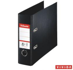 Esselte Standard Vivida Iratrendező 75 mm banki PP/PP élvédő sínnel fekete (468970)