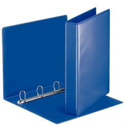 Esselte Gyűrűs dosszié panorámás 4 gyűrű 50 mm A4 PP/PP kék (49715)
