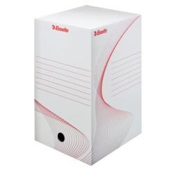 Esselte Standard Archiváló doboz 200 mm A4 karton fehér (128701)