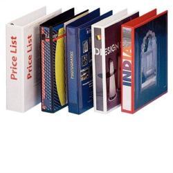 Esselte Gyűrűs könyv panorámás 4 gyűrű 77 mm A4 PP/PP fehér (49705)