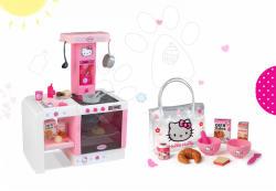 Smoby Bucatarie Cuisine Hello Kitty Cheftronic 19 accesori (SM24195)