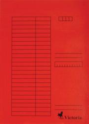 Victoria Pólyás dosszié A4 karton piros 5db/cs (IDPI05)