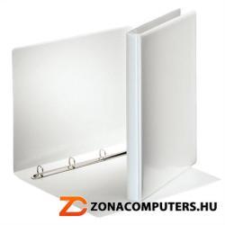 Esselte Gyűrűs könyv panorámás 4 gyűrű 25 mm A4 PP/PP fehér (49700)