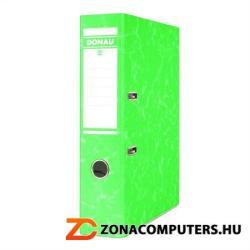 DONAU Eco Iratrendező 75 mm A4 élvédő sínnel zöld (3867Z)