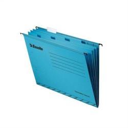 Esselte Pendaflex Függőmappa elválasztólapokkal A4 karton kék (93133)