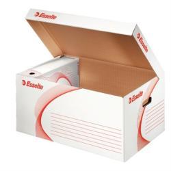 Esselte Standard Archiváló konténer felfelé nyíló karton fehér (128900)