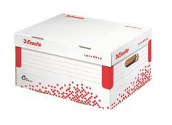 Esselte Speedbox Archiváló konténer S méret karton fehér (623911)