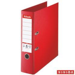 Esselte Standard Plus Vivida Iratrendező 80 mm A4 PP/PP élvédő sínnel piros (81183)