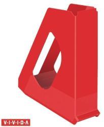 Esselte Europost Vivida Iratpapucs 68 mm műanyag piros (623935)