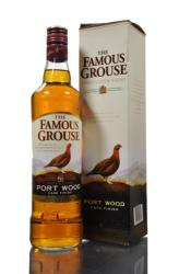 THE FAMOUS GROUSE Port Wood Cask Finish Whiskey 0,7L 40%