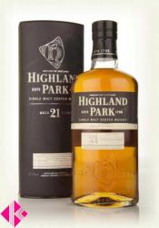 HIGHLAND PARK 21 Years Whiskey 0,7L 47,5%