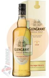 GLEN GRANT The Major's Reserve Single Malt Whiskey 0,7L 40%