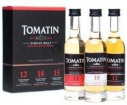 TOMATIN Triple Pack Whiskey 3x0,05L 43%