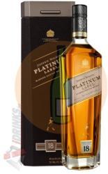 Johnnie Walker 18 Years Platinum Label Whiskey 0,7L 40%