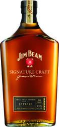Jim Beam 12 Years Signature Craft Whiskey 0,7L 43%