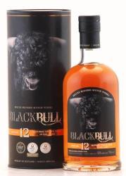 BLACK BULL 12 Years Whiskey 0,7L 50%