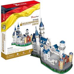 CubicFun Neuschwansteini kastély 3D puzzle 98 db-os (MC062H)