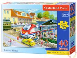 Castorland Vasútállomás 40 db-os (B-040032)