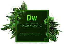 Adobe Dreamweaver CC Multiple Platforms ENG (1 User, 1 Year) 65224692BA01A12