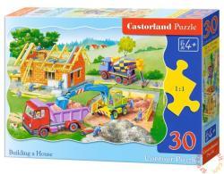 Castorland Házépítés 30 db-os (B-03372)