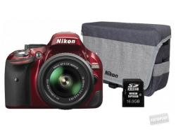 Nikon D5200 + 18-55mm VR II (VBA350K007)