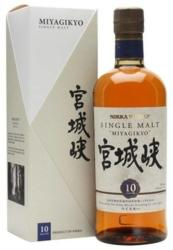 NIKKA WHISKY 10 Years Miyagikyo Whiskey 0,7L 45%