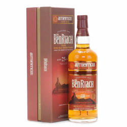 BenRiach 25 Years Authenticus Whiskey 0,7L 46%