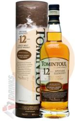 TOMINTOUL 12 Years Sherry Finish Whiskey 0,7L 40%