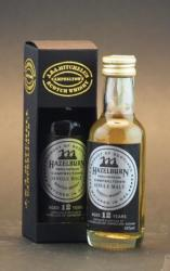 HAZELBURN 12 Years Whiskey 0,05L 46%