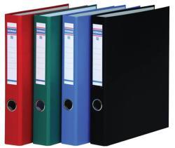 DONAU Gyűrűs könyv 4 gyűrű 45 mm A4 PP/karton kék (3934K)