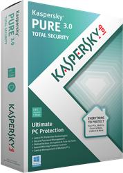Kaspersky PURE 3.0 (3 PC, 1 Year) KL1911OCCFS