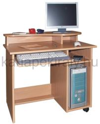 Basic számítógépasztal monitortartóval