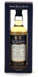 BOWMORE 11 Years Berry's 2001 Whiskey 0,7L 46%