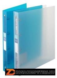 Viquel Propyglass Gyűrűs dosszié 4 gyűrű 35 mm A4 PP víztiszta (IV061340)