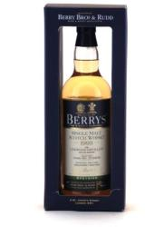 Linkwood 1993 Berry's Whiskey 0,7L 46%