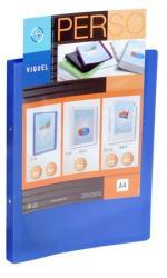 Viquel Standard Gyűrűs dosszié panorámás 2 gyűrű 25 mm A4 PP/PP kék (IV091051)