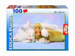 Educa Cica és kacsa barátság 100 db-os (15909)