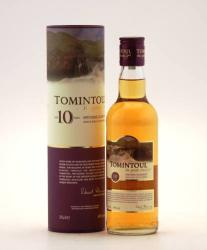 TOMINTOUL 10 Years Whiskey 0,35L 40%