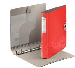 Leitz Active Bebop Gyűrűs könyv 4 gyűrű 52 mm A4 PP piros (42360025)