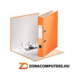 Leitz 180 Wow Iratrendező 52 mm A4 PP/PP élvédő sínnel narancssárga (10060044)