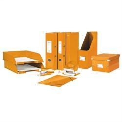 Leitz Wow Gyűrűs könyv 4 gyűrű 40 mm A4 karton narancs (42420044)