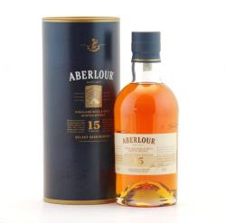 ABERLOUR 15 Years Whiskey 0,7L 43%