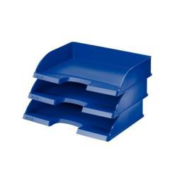 Leitz Plus Irattálca műanyag oldalt nyitott kék (52180035)