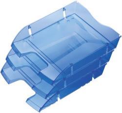 HELIT Nestable Green Logic Irattálca műanyag áttetsző kék (2363530)