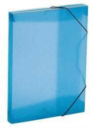 Viquel Propyglass Gumis mappa 30 mm A4 PP kék (IV021346)