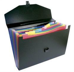 Viquel Rainbow Class Harmonika táska 12 rekeszes PP fekete (IV117287)
