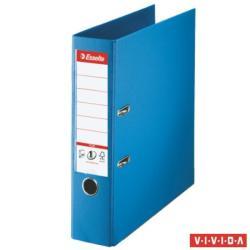 Esselte Standard Plus Vivida 80 mm A4 PP/PP élvédő sínnel kék (81185)
